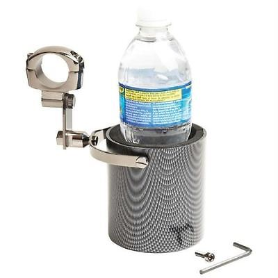 Diamond Plate™ Graphite Design Motorcycle Cup Holder