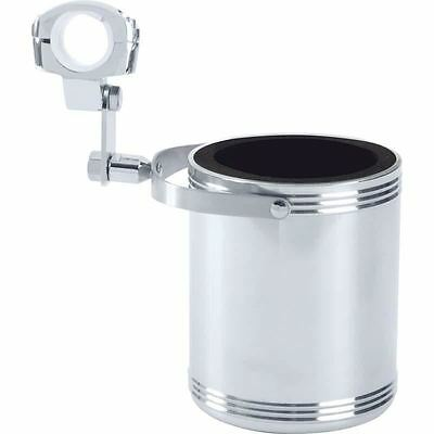 Diamond Plate™ Large Stainless Steel Motorcycle Cup Holder