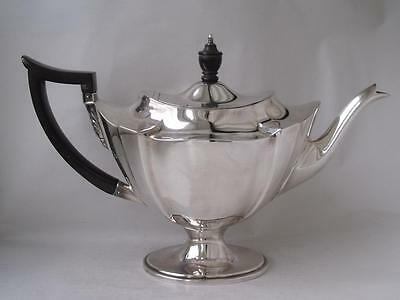 Smart Antique Solid Sterling Silver Tea Pot 1903/ L 28.5 cm/ 596 g