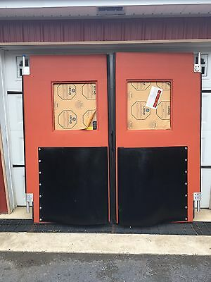 """NOS Commercial Restaurant Factory Warehouse High Traffic Swinging Doors 81 X 82"""""""