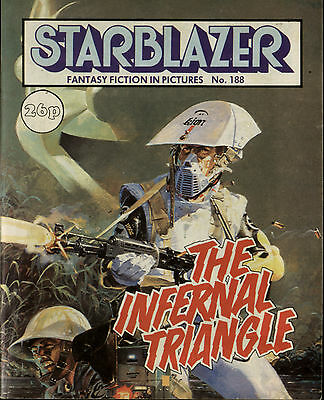 The Infernal Triangle,starblazer Fantasy Fiction In Pictures,comic,no.188,1987