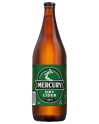 Mercury Cider Dry 750mL bottle Apple Cider