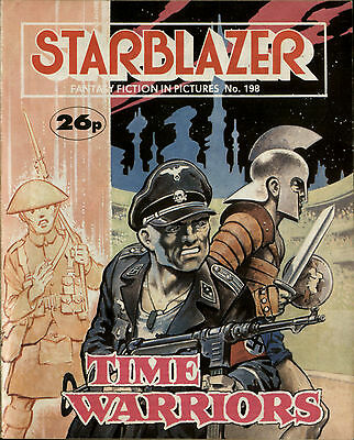Time Warriors,starblazer Fantasy Fiction In Pictures,comic,no.198,1987