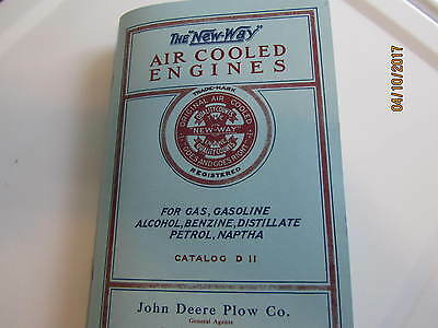 New Way Air Cooled Engines Catalog D-11 Aircooled Vertical Engine