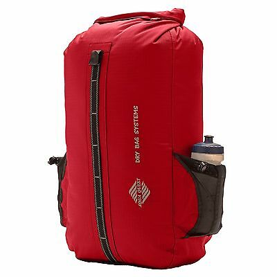 Aqua Quest Sport 30L Waterproof Dry Bag Backpack Hiking, Camping Travelling -Red