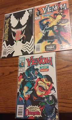 Lot of 3 Venom Comic Books. The Enemy Within  1,2 and 3. Complete.