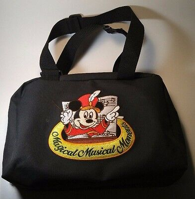 Disney Htf Magical Musical Moments Pin Storage Pin Trading Bag / Carry Case