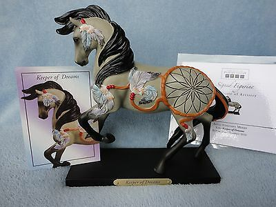 Trail Painted Ponies Keeper Of Dreams SIGNED Horse Model Figurine Low Edition