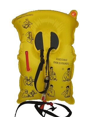 Aircraft  Adult/Child Single Cell 10 Year Life Vest