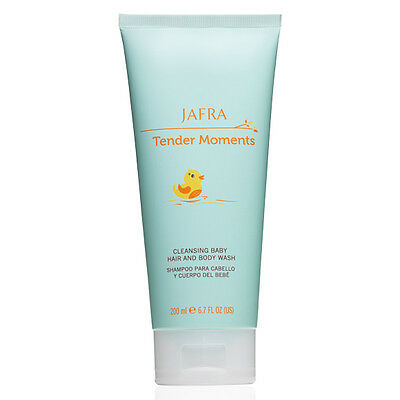 Jafra Tender Moments Cleansing Baby Hair And Body Wash 6.7 FL.OZ. Tear-Free