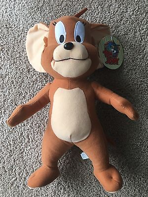 """Jerry 13"""" inch plush from Tom and Jerry NWT"""