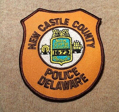 DE New Castle County Delaware Police Patch