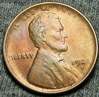1920-S Lincoln Cent Wheat Penny --- STUNNING DETAILS --- #N848