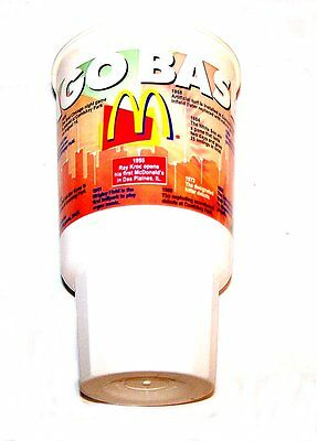 Vintage McDonalds Ronald Chicago Cubs Baseball Cup Happy Meal Toy Gift Card Ofr