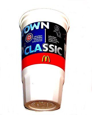Vintage McDonalds Ronald Chicago Crosstown Baseball Cup Happy Meal Toy Gift Card