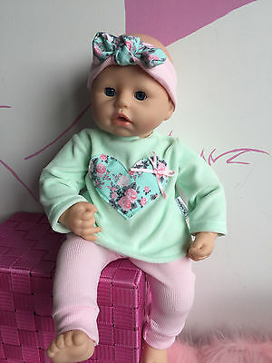 Clothes for Baby Annabell, Chou Chou,Baby Piccolina or other doll 46 cm