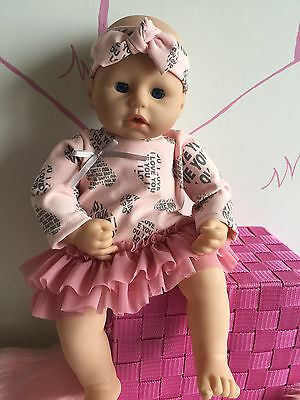 Handmade clothes for Baby Annabell,Chou Chou,Baby Piccolina or other doll 46 cm