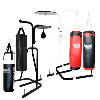 3 In 1 Boxing Stand 3 Way Station Punching Bag Speed