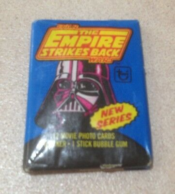 "1980 Topps ""Empire Strikes Back Series 2"" - Wax Pack (Loaded CANDY Variation)"