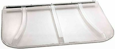 Universal Fit Plastic Fire Egress Window Well Cover 400lb Capacity 44 in x 38 in