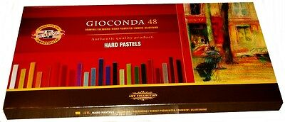 Set of artist´s hard pastels 8116N Oil pastels GIOCONDA 48 colors KOH-I-NOOR