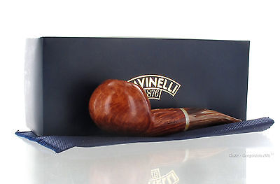 Savinelli Pipe - DOLOMITI 321 Brown Smooth Briar Author New Made in Italy