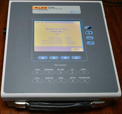 Fluke Bio-Tek VT Plus Gas Flow Analyzer WORKS Warranty