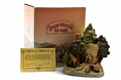 David Winter Cottages Hermits Humblehome 1985 Box COA