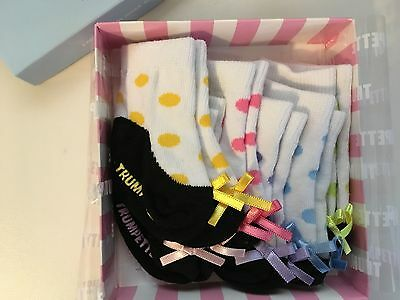 Tricia's Trumpette Baby Girl / Infant Socks 0 - 12 months (brand new)
