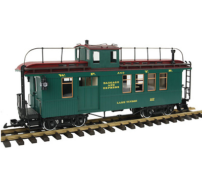 Lgb G Scale White Pass And Yukon Drovers Caboose #207 | Bn | 40756