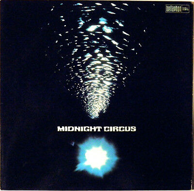 Midnight Circus NEAR MINT Bacillus Vinyl LP