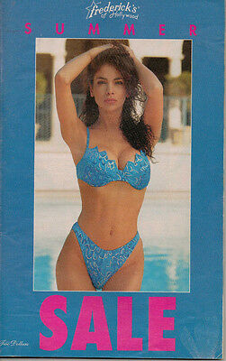 Frederick's of Hollywood 1994 Vol 90 Issue 395 Summer Sale Catalog Fashion