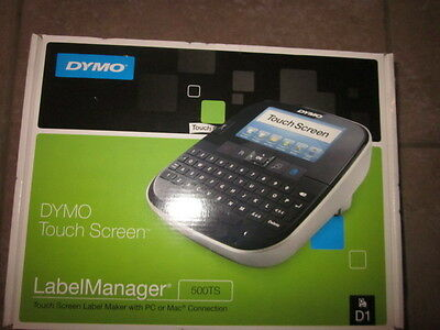 Dymo LabelManager 500TS Label Thermal Printer NEW in box label maker touch