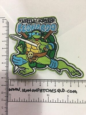 Iron on Patch Dora The Explorer Backpack 9cm x 5.5cm Sew Applique Embroidered