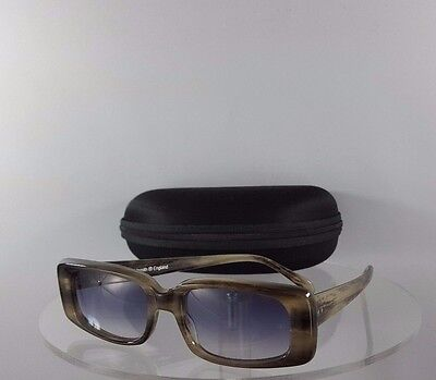Brand New Authentic Oliver Goldsmith Drew Sunglasses Grey Charcoal Frame