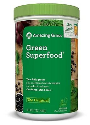 Organic Superfood Formula with Omega 3 Flax Seed, Probiotics, Barley Grass -480g