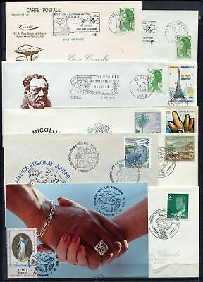 s16231) MUSHROOMS 10 different covers  Spain France