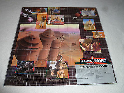 Star Wars The Power Of The Force Planet Of Tatooine Poster Vintage 1985 Potf Lfl
