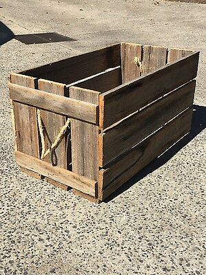 vintage/ rustic timber box