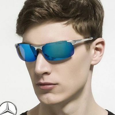 Mercedes Sunglasses Luxury Brand Designer 2017 Men Polarized Eyewear