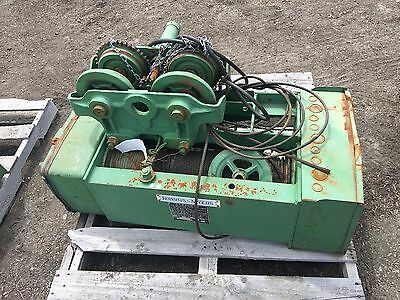 robbins and myers electric hoist,  3 1/2 Ton
