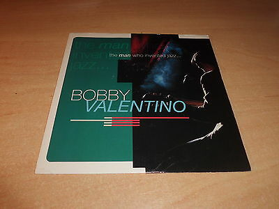 """Bobby Valentino The Man Who Invented Jazz 7"""" Vinyl Pic Slve Combined Postage"""