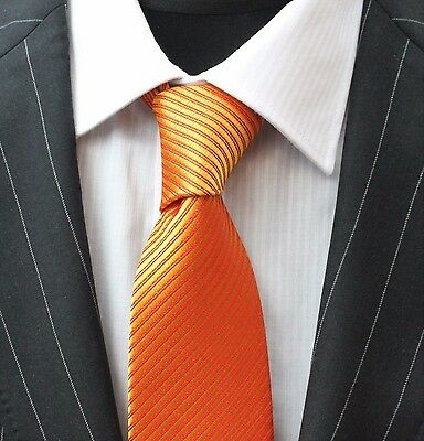 Tie Neck tie with Handkerchief Deep Gold