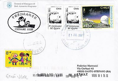 China - antarctic cover from Chinare 23