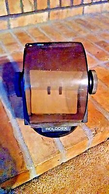 Vintage Rolodex Model No. SW-24C/ Rotating Base