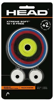 Head Xtreme Soft Roll Overgrips - Assorted Colours