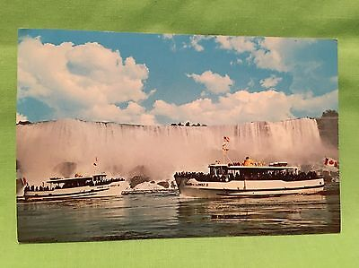 1970's Rare Postcard For Maid Of The Mist At American Falls - Vintage