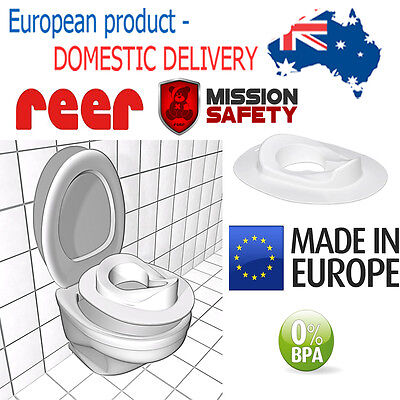 WC TRAINING TOILET SEAT for children BPA FREE Toddler Baby Kid Ring Cover Chair