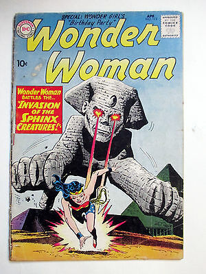 WONDER WOMAN 113 Classic DC silver age  VG- 1960  Hard to Find! - MOVIE!