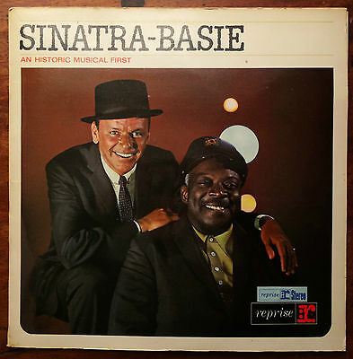 Sinatra-Basie - An Historic Musical First (1962 Reprise G/F Stereo LP. R9-1008)